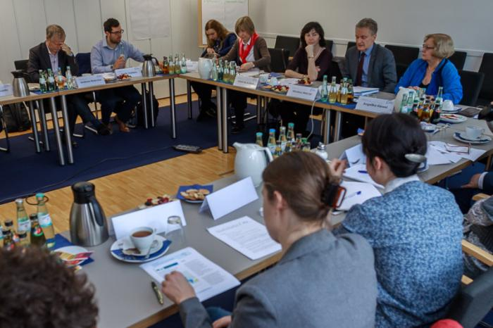Internationaler Round-Table der BPtK am 23. März 2017 in Berlin